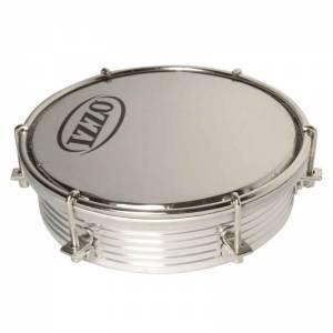 Tamborim aluminio Izzo - parche espejo