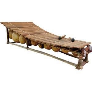 Balafón sénoufo 21 notas Kangaba
