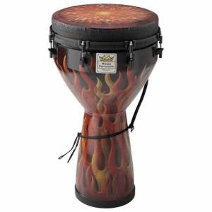 """Djembe Remo 14"""" Flame"""