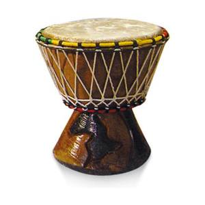 "Djembe tradicional Senegal 6"" Kangaba"