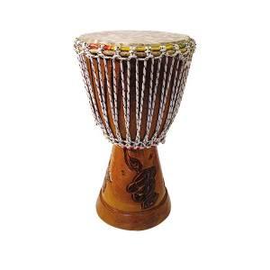 "Djembe tradicional Senegal 9-10"" Kangaba"